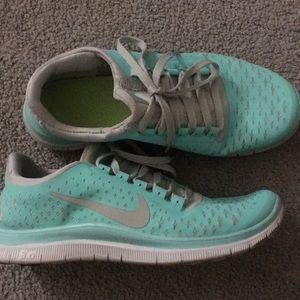 63a409eeb86c Nike Shoes - Nike Free Run 3.0 Tiffany Blue